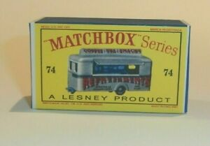 Matchbox-Lesney-No-74-MOBILE-CANTEEN-Empty-Repro-D-Style-Box