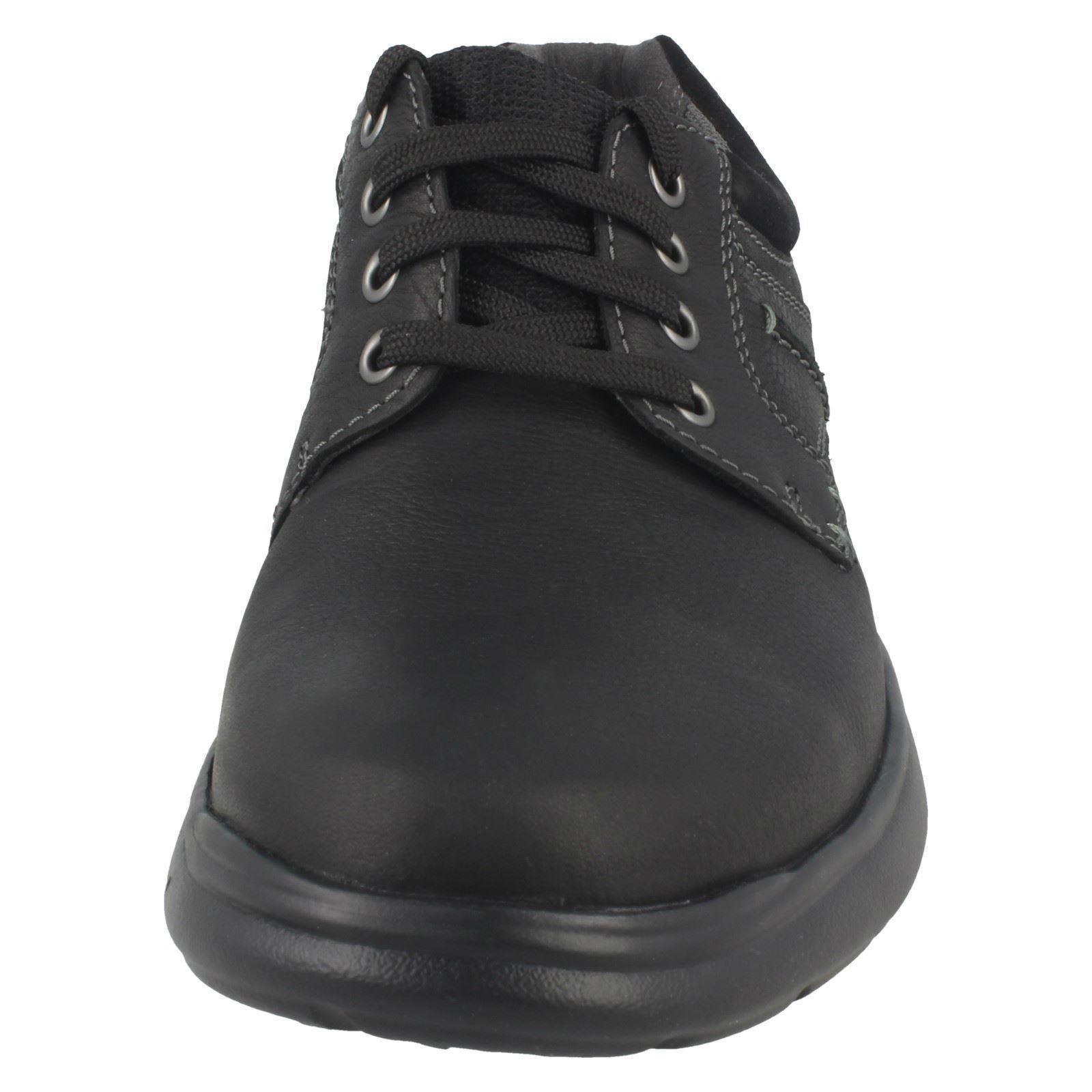 Clarks Cotrell Oben Einfarbig Herren Leder Spitze Oben Cotrell Schuhe 7d2247