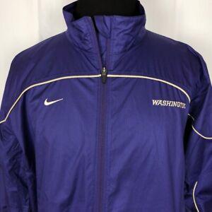 Nike-Storm-Fit-Light-Rain-Jacket-Size-Med-Purple-University-of-Washington-UW