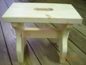 Sgabello legno massiccio acero abete super resistente sgabellino
