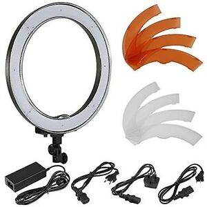 neewer camera photo video 18 inches 48 cm outer 55w 240 pieces led ring light ebay. Black Bedroom Furniture Sets. Home Design Ideas