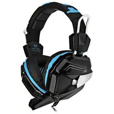 USB 7.1 Surround Vibrazione Gioco Cuffie Gaming con Microfono per PC Laptop