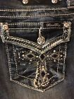 """Miss Me womens jeans JP5100B9 """"Bless your Heart"""" boot cut"""