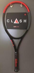 Wilson Clash 100 Pro 4 3//8 Tennis Racquet *NEW*