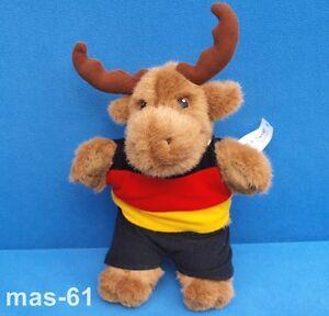 IKEA-Alce-dragby-con-la-Germania-Maglia-28-CM-PELUCHE-MARRONE-alg-Moose