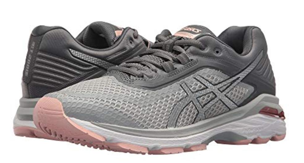 Asics GT 2000 v 6 Size US 7 M (B) EU 38 Women's Running shoes Grey Pink T855N