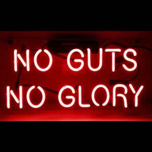 14-x7-034-NO-GUTS-NO-GLORY-Neon-Sign-Light-Beer-Bar-Pub-Wall-Decor-Game-Room-Hanging