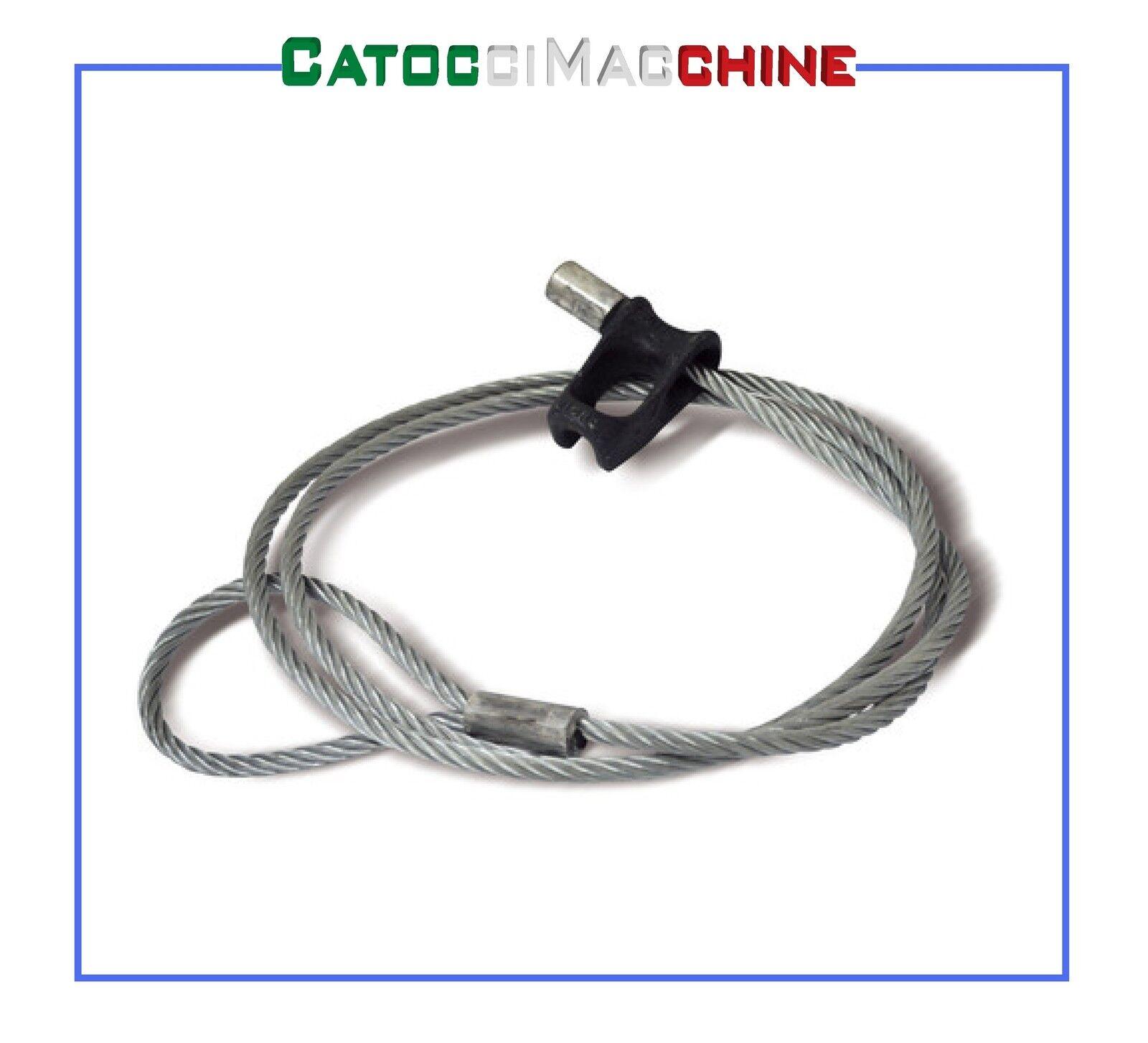 Tirante Chocker para Cabrestante Forestal Ø 10mm 2 MT Docma 310007