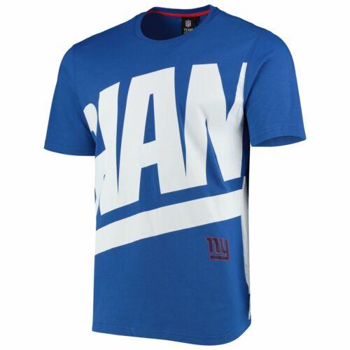 New York Giants BIG GRAPHIC NFL Shirt royal