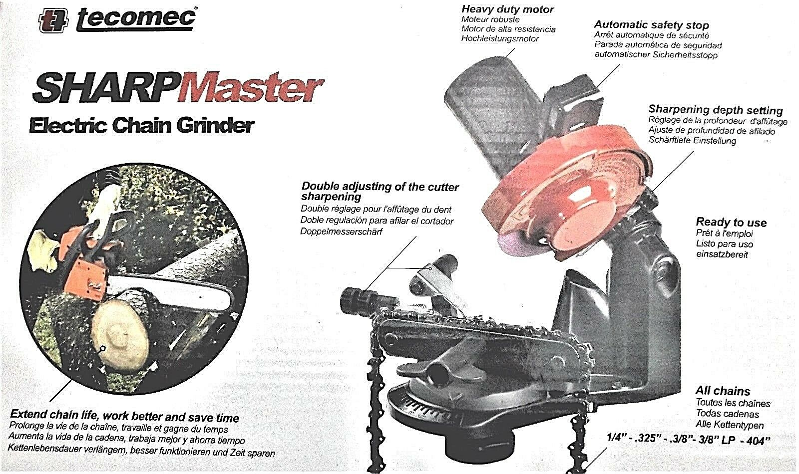 Kettenschärfgerät sägekettenschärfgerät per motoseghe 220v 120v 85w