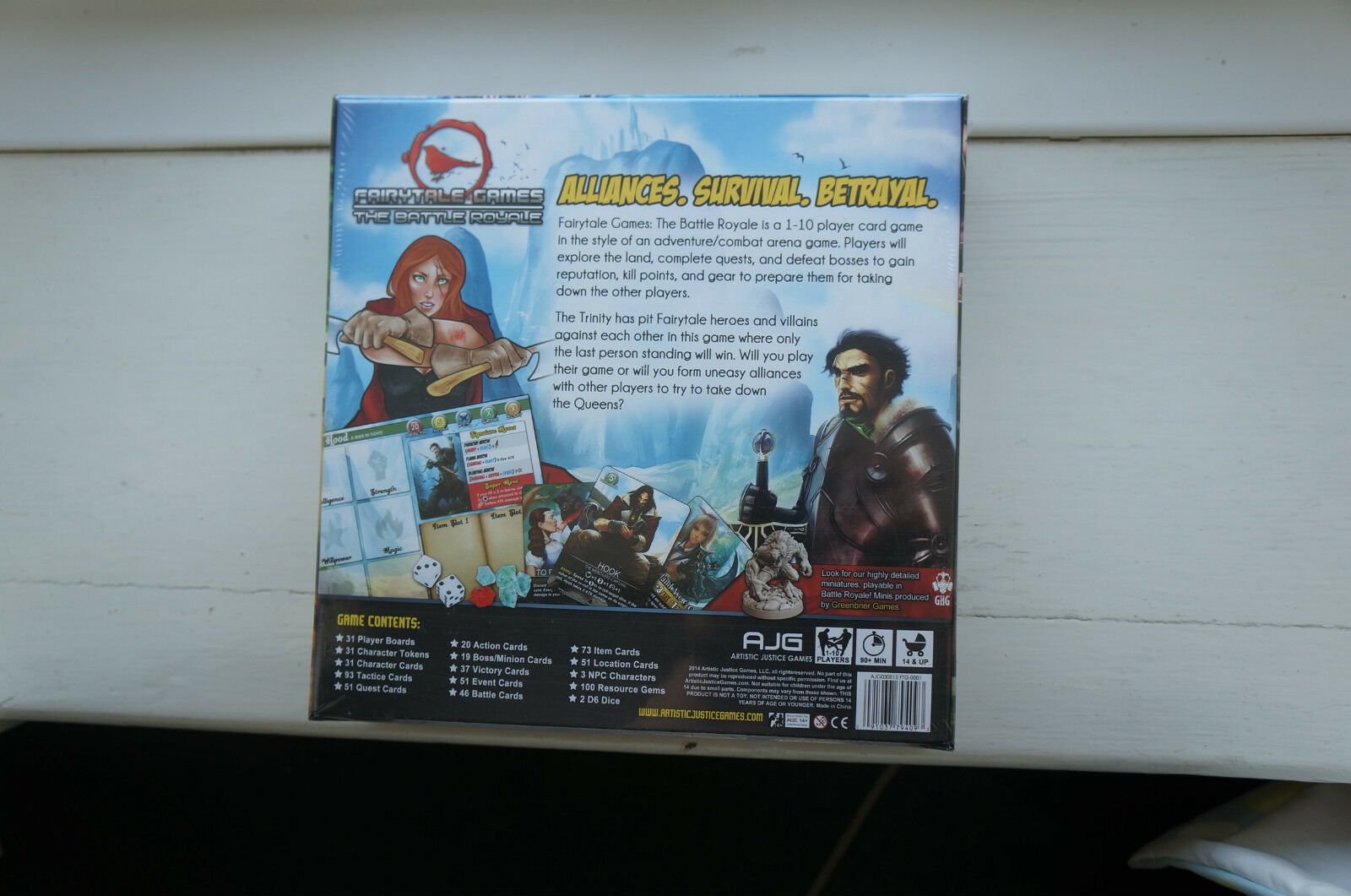 Fairytale Games Games Games Board Game  The Battle Royale UK ONLY cfe951