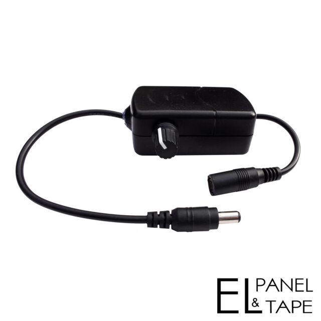 In-Line Dimmer- Brightness Controller - El panels, foil, sheets and Tape