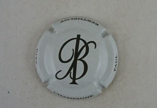 capsule champagne BERTHELOT paul initial blanc et noir