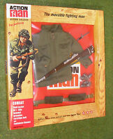 Vintage Action Man 40th Carded Action Soldier Combat Field Jacket