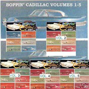 V-A-BOPPIN-039-CADILLAC-Vol-1-5-5-CD-Set