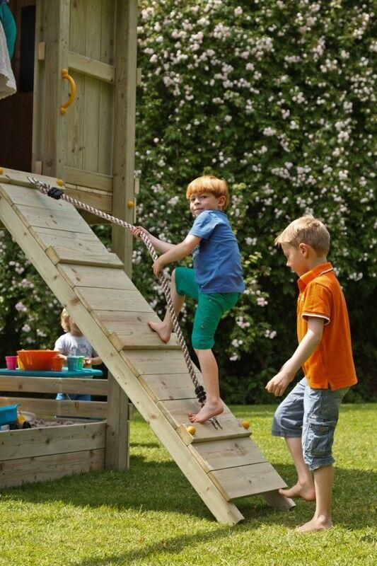 Blau Rabbit® - @ramp - Rampe Anbaumodul Kletterwand Kletterrampe Spielturm