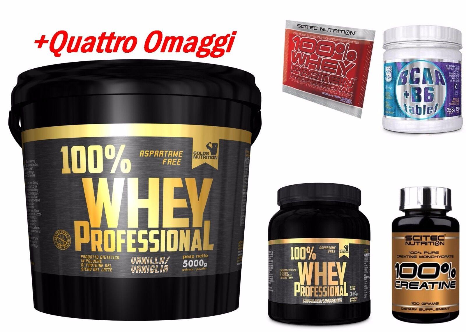 Gold's Nutrition 100% whey protein siero vaniglia 5 kg  bcaa + bcaa  + scitec proteine b6e580
