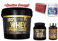 Gold's Nutrition 100% whey protein siero vaniglia 5 kg  + bcaa + scitec proteine
