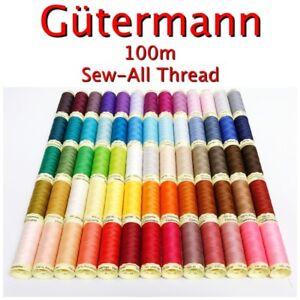 Gutermann-Thread-100m-Reel-Sew-All-100-Polyester-Machine-Hand-Sewing