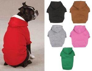Fleece-Lined-Hoodie-US-Seller-Zack-amp-Zoey-Heavyweight-Dog-Sweatshirt-Sweater