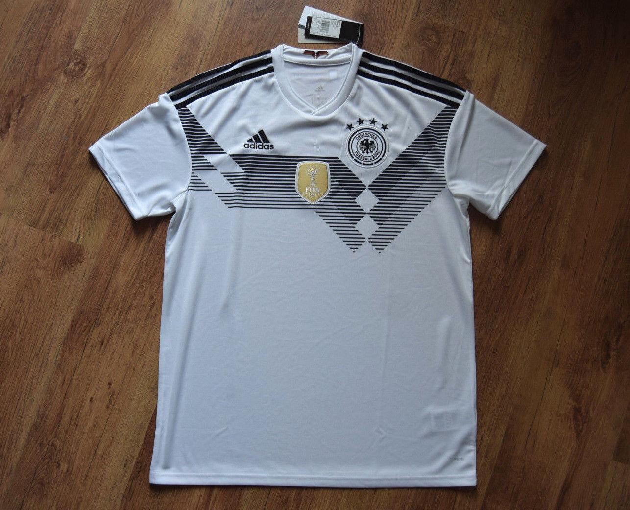 Adidas DFB Home Jersey World Cup 2018 S M L XL XXL Germany H Jsy Jersey BR7843