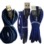 miniature 3 - 3 Pack USB Fast Charger Cable 10Ft 6Ft For iPhone 12 11 8 7 6 Plus Charging Cord