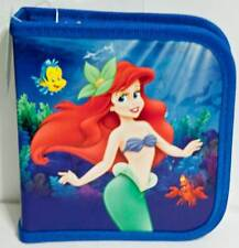 Disney Princess Little Mermaid Ariel Holds 24 CD or DVD Case