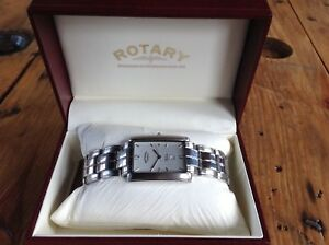 Men-039-s-Rotary-Elite-Quartz-Watch-10015