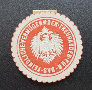 Siegelmarke-Vignette-Der-Treuhaender-Fuer-Das-Feindliche-Vermoegen-8186-4