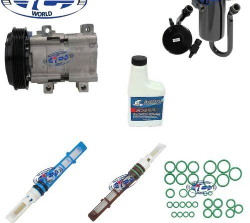 AC Compressor Kit Fits Ford Bronco F150 F250 F350 F53 FS10 OEM 57126
