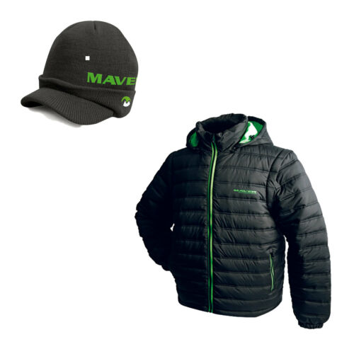 Maver Thermal Quilted Jacket Free Peaked Beanie *New 2019* Free Delivery