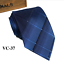 Classic-Red-Black-Blue-Mens-Tie-Paisley-Stripe-Silk-Necktie-Set-Wedding-Jacquard thumbnail 47