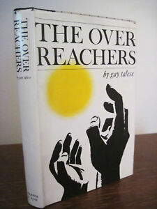 1st-Edition-THE-OVERREACHERS-Gay-Talese-FIRST-PRINTING-Novel-NORMAN-MAILER-PRIZE