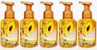 5 Bath & Body Works Sonoma Sunflower Blossom Gentle Foaming Hand Soap Wash