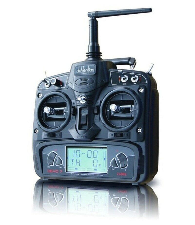 Walkera DEVO7 Transmitter 7Ch DSSS 2.4G Transmitter Without Receiver for Walkera