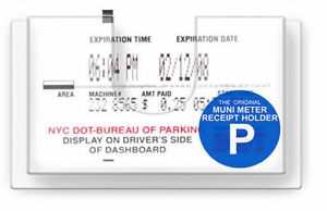 muni safe meter display parking receipt slip holder cheapest