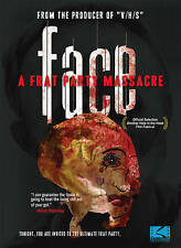 FACE: A Frat Party Massacre DVD with SPECIAL FEATURES | Brand NEW | Free Shippin