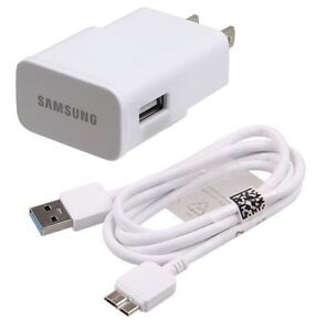 New OEM Samsung Galaxy Note Pro 12.2 Wall Charger + 3.0 ...