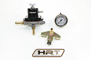 1-8L-G60-PG-1H-Benzindruckregler-Kit-einstellbar-Schwarz-Profi-Qualitat-NEU