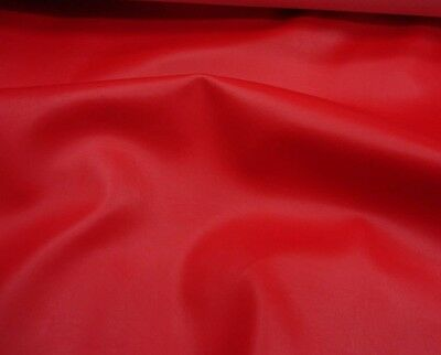 """Marine faux vinyl leather Red Upholstery Auto Boat vinyl fabric yard 54"""" wide"""