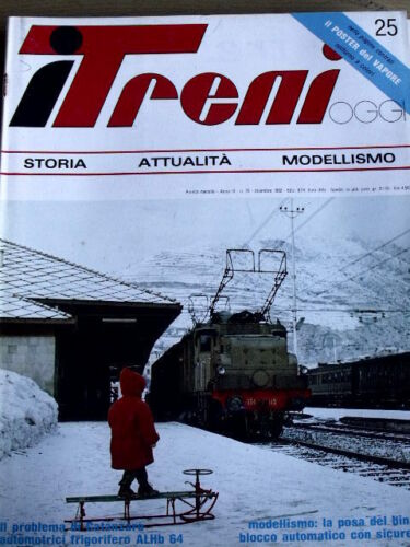 Ferrovia Catanzaro I Treni 25 1982 Vecchie Automotrici frigorifero ALHb 64