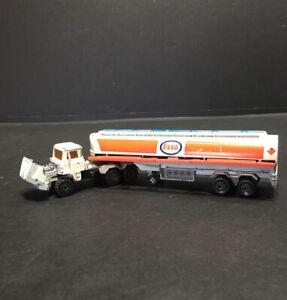 Vintage-Majorette-Esso-Fuel-Tanker-Tractor-Trailer-1-60-France-Serie-3000