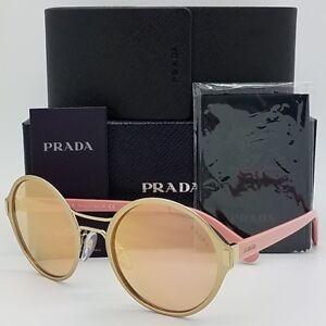 bd7fd2b69394 New Prada sunglasses PR57TS EAG6S0 Pink Rose Gold Mirror AUTHENTIC ...