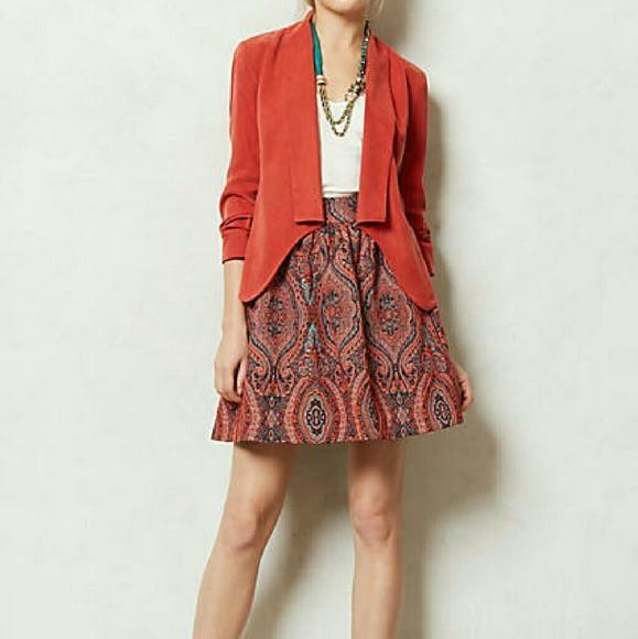 Anthropologie  Karavi  Print Skirt-SALE
