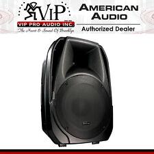 "American Audio ELS-15BT 15"" 2-Way Active DJ Speaker Bluetooth/MP3/USB/SD NEW"