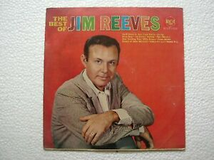 JIM REEVES THE BEST OF JIM REEVES RARE LP lsp 2890 record INDIA INDIAN EX