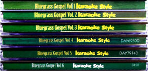 Bluegrass-Gospel-Music-Volumes-1-6-SET-Karaoke-Style-NEW-CD-G-Daywind-36-Songs