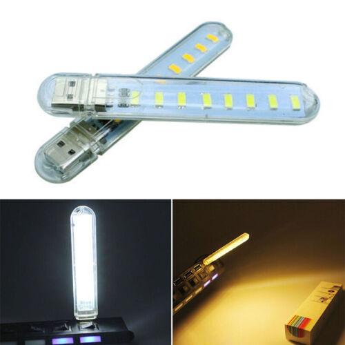 Birnen USB LED Licht Nacht Notebook Alternativ Power Bank Schlafzimmer Tragbar