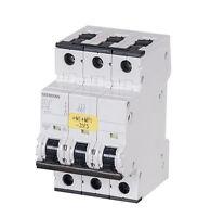 SIEMENS 5SY4310-7 5SY43 MCB C10 Leitungsschutzschalter 400V 10kA 3-polig C 10A