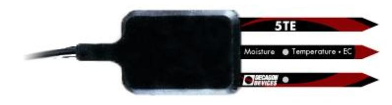 Decagon 5TE Soil Moisture, Temperature and electrical conductivity sensor
